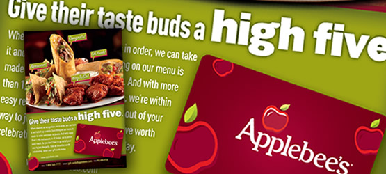 Applebee's Print Materials